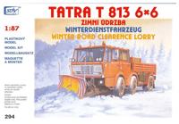 Tatra T-813 6x6 Zimní údržba