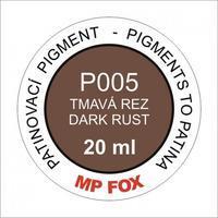 Pigment-tmavá rez 20ml