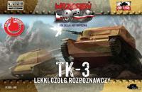 TK-3 - lehký průzkumný tank