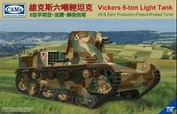 Vickers 6-Ton Light Tank Alt B Commander Verison-Republic of China