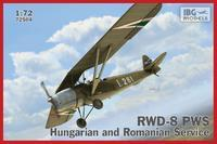 RWD-8 Hungarian and Romanian service