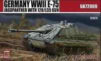 JAGDPANZER E-75 WITH 128/L55 GUN