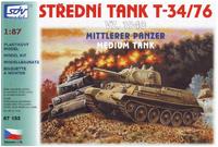 Střední tank T-34/76 vz. 1940