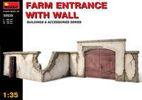 Farm Entrance w/Wall