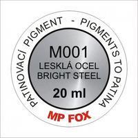 Pigment-lesklá ocel 20ml