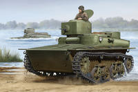 Soviet T-37 Amphibious Light Tank-Early