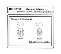 German helmets 1/72