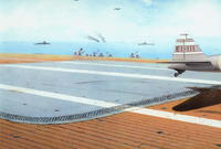 Japan navy aircraft carrier deck 1:48