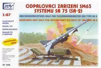 Odpalovací zařízení SM63, systému SA 75 (SA-2)