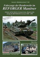Fahrzeuge der BW im REFORGER Manover