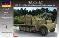 Sd.Kfz 7/2 (Sfl. 3,7 Flak 43)