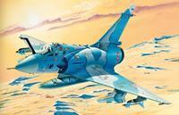 Mirage 2000C France/Greece - set s barvami, lepidlo, štětec.