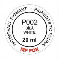 Pigment-bílá 20ml