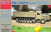 MB L4500 R Maultier Kettenlaufwerk/Einheits-Fahrerhaus