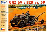 GAZ-69 s BZK vz. 59