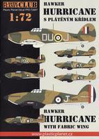 Hawker Hurricane s plátěným křídlem
