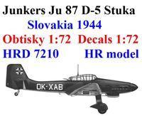 Ju 87D-5 slovakia 1944