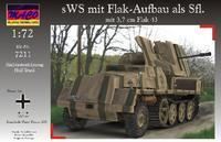 sWS mit Flak-Aufbau als Sfl mit 3,7 cm Flak 43