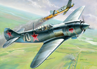Lavotchkin LA-5 FN Soviet Fighter