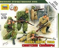 Soviet Sniper Team