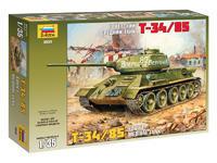 T34/85 Soviet Tank