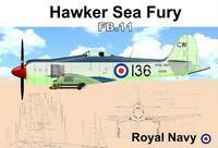 Hawker Sea Fury FB.11  Royal Navy - poškozené
