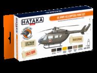 US Army Helicopters Paint Set, sada barev