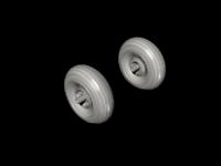 1/48 Blenheim Mk. I Mainwheels / Circumferential Tread