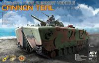 LVTH6A 1 Fire Support Vehicle Canon Teal