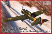 PZL 23B Karaś Romanian Service