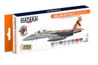 Israeli Air Force Paint Set (Modern Jets), set barev