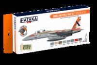 Israeli Air Force Paint Set (Modern Jets), set barev