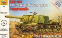 """Sovětský stíhač tanků ISU-152 """"Zvěroboj"""""""