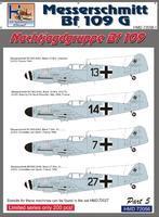 Messerchmitt BF 109G - Nachtjagdgruppe BF 109 part 5