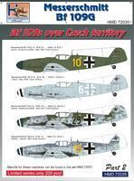 Messerschmitt BF 109G - over the Czech territory part 2