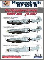 Messerschmitt BF 109 G Nachtjagdgeschwader Wilde Sau JG 300 part 3