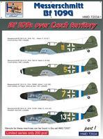 Messerschmitt BF 109G - over the Czech territory part 1