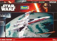 X-Wing Fighter Star Wars - model, barvy, štětec, lepidlo 1:112