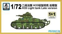 H35 Light tank Late version