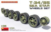 T-34/85 Sea Star Wheels Set