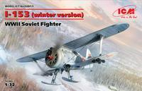 I-153 (winter version ) Soviet Fighter