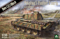 Panther A Early, German Medium Battle Tank, WW2