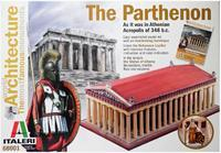 The Partheon. As it was in Athenian Acropolis of 348 b.c.  Easy assemblked model kit.