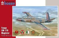 "Fouga CM-170 Magister ""Exotic Air Forces)"