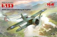 I-153  China Guomindang AF Fighter