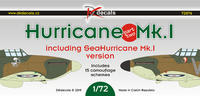 Hurricane Mk.I, part two, decals