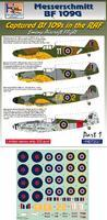 Messerschmitt BF 109G - Captured Bf 109s in the RAF - emeny Aircraft Flight part 1