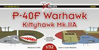 P-40F Warhawk, Kittyhawk Mk.II A, Decals