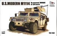 US.Modern M1114 Up-armored HMMWV w/GPK Turret