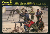 Mid-East Militia, 32+ Figures